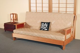Lounge Bed Frame Square