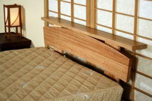Japan Head Board + Shelf 140